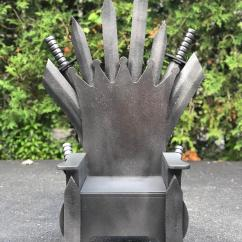 Iron Throne Chair Hanging Brisbane No Spoilers I Made From A Thrifted Potty For Our Baby Boy