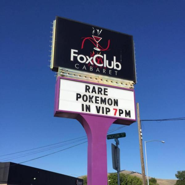 Sign Local Strip Club Funny