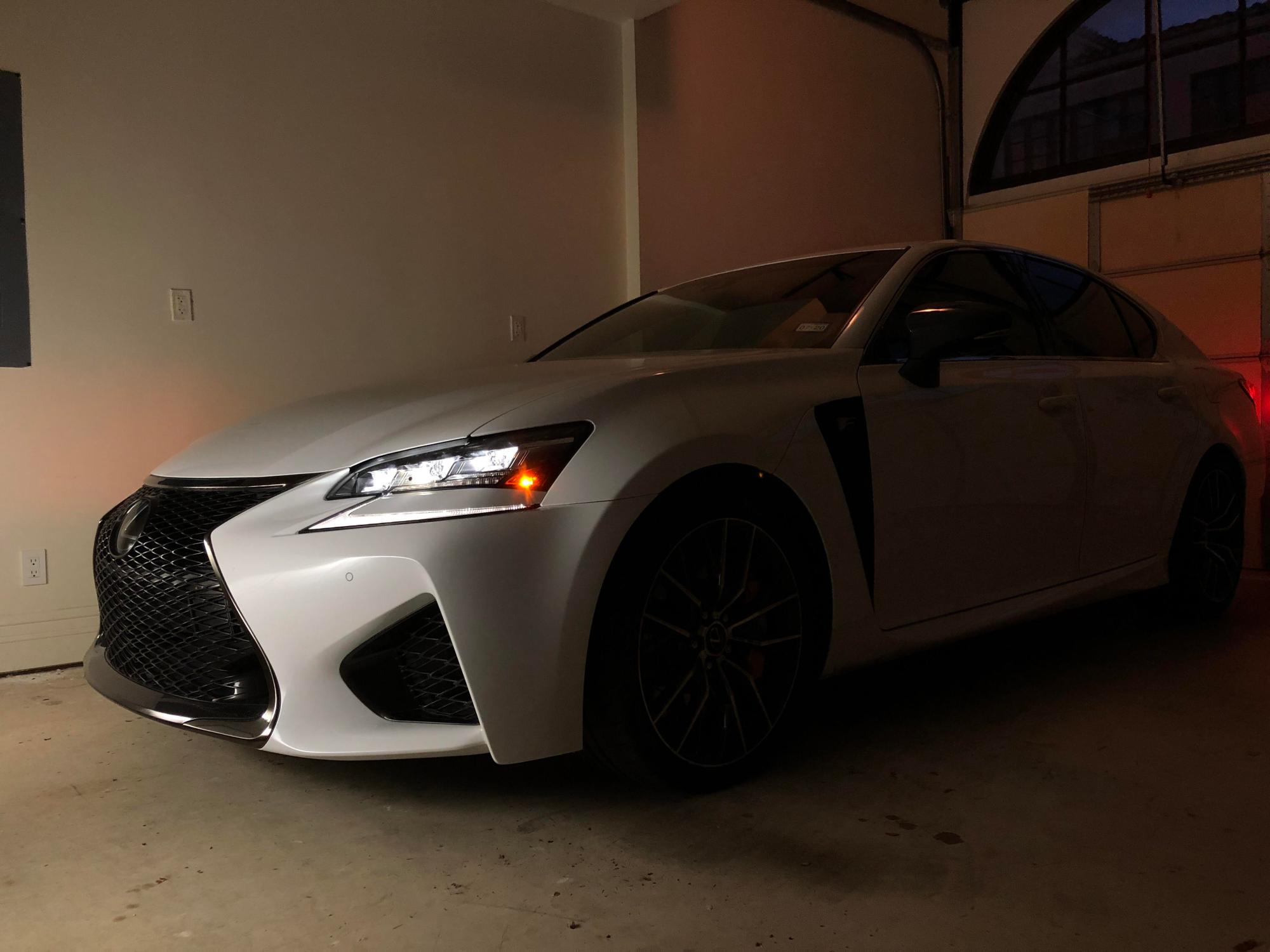 hight resolution of my ultra white gs f