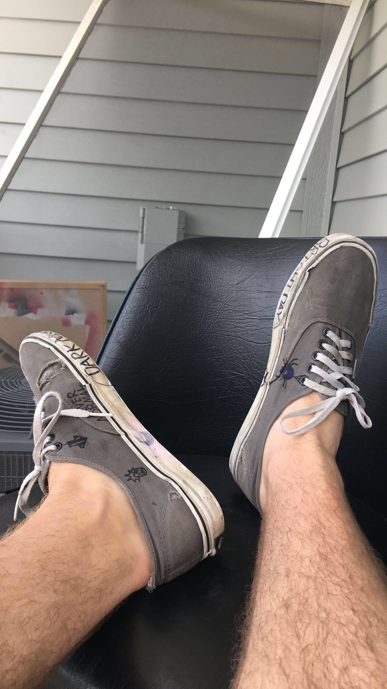 Drawing On Vans : drawing, Anyone, Their, Sharpie?