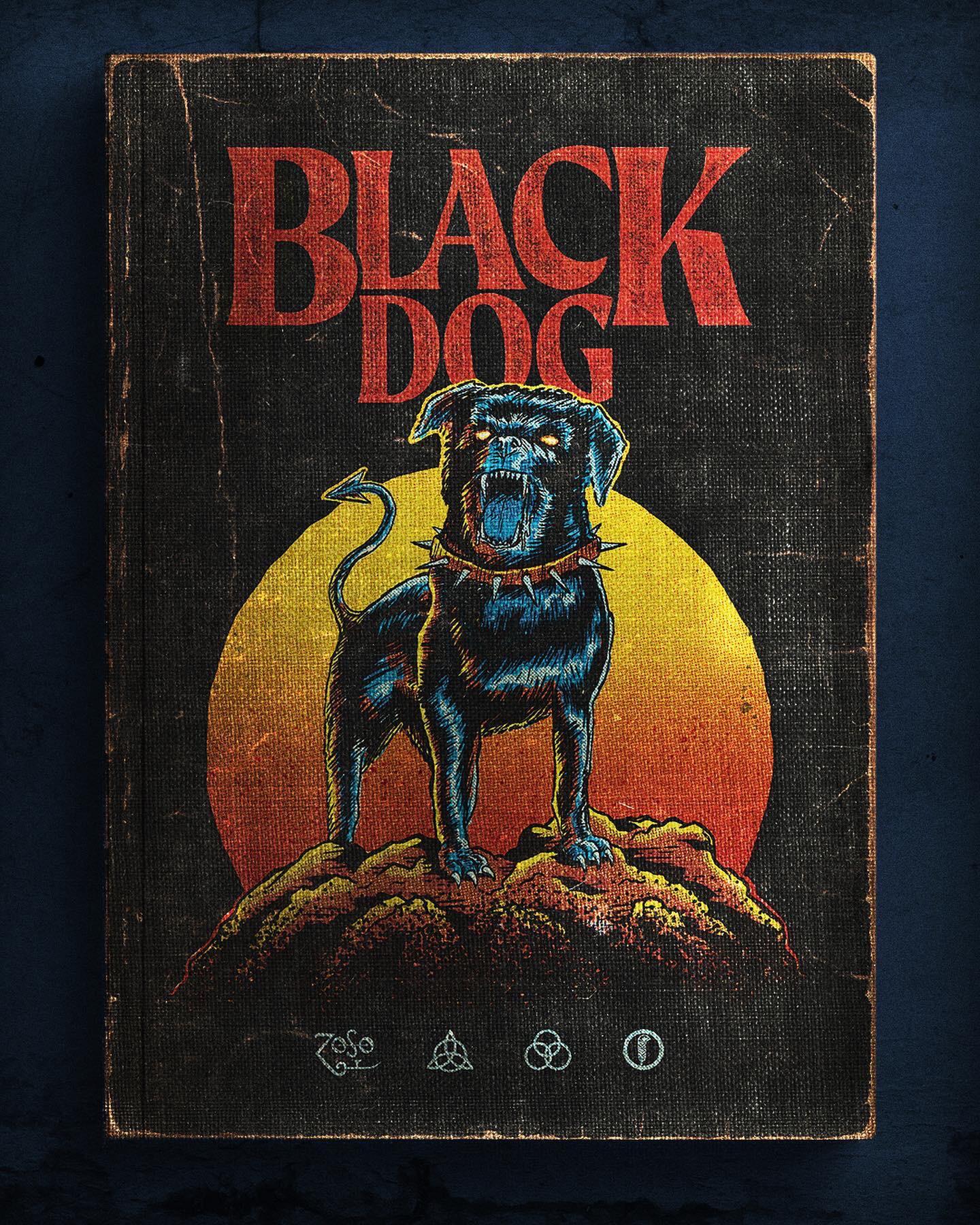 a bit of artwork i did for black dog