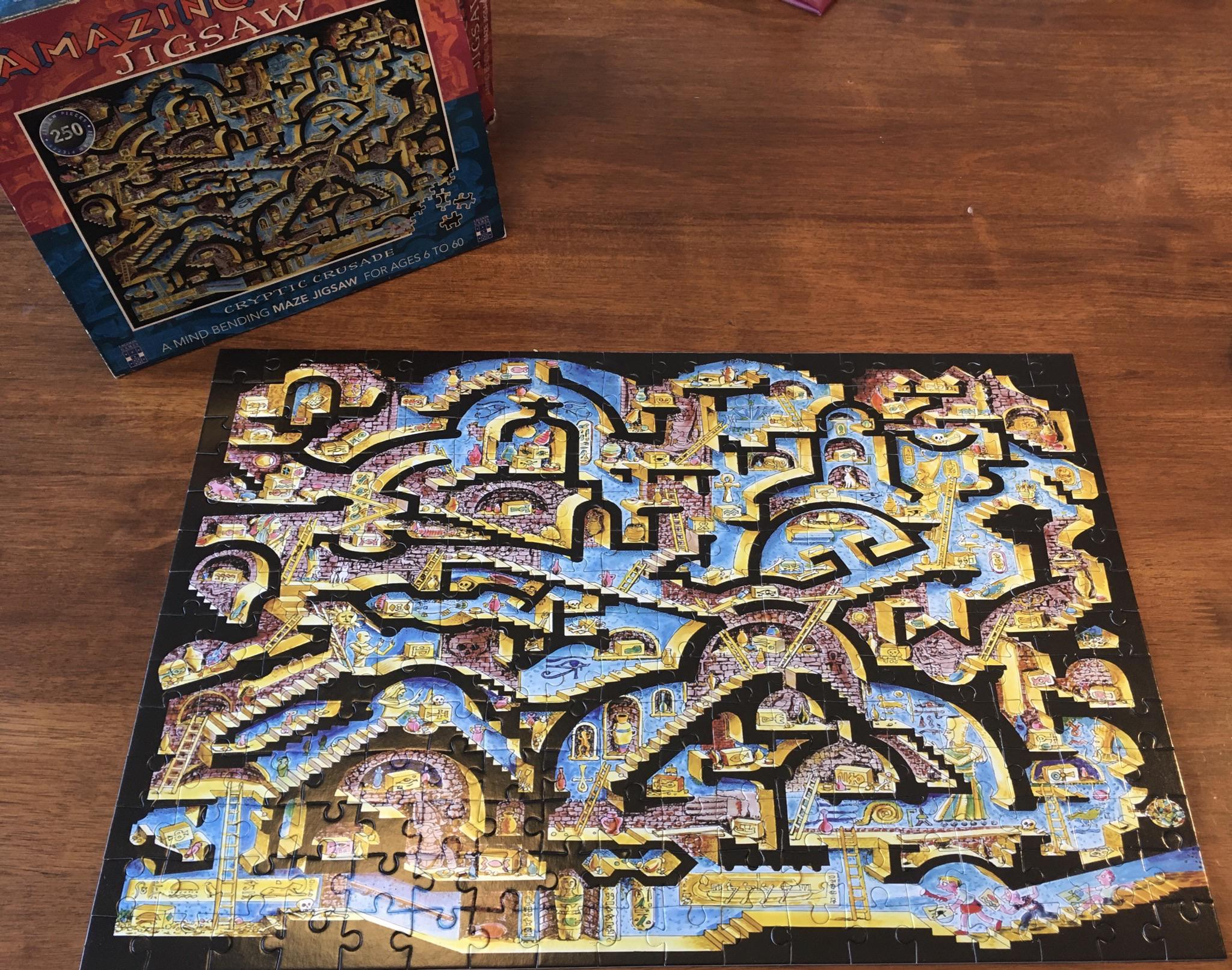 My First Puzzle In About 10 Years Completed A Childhood