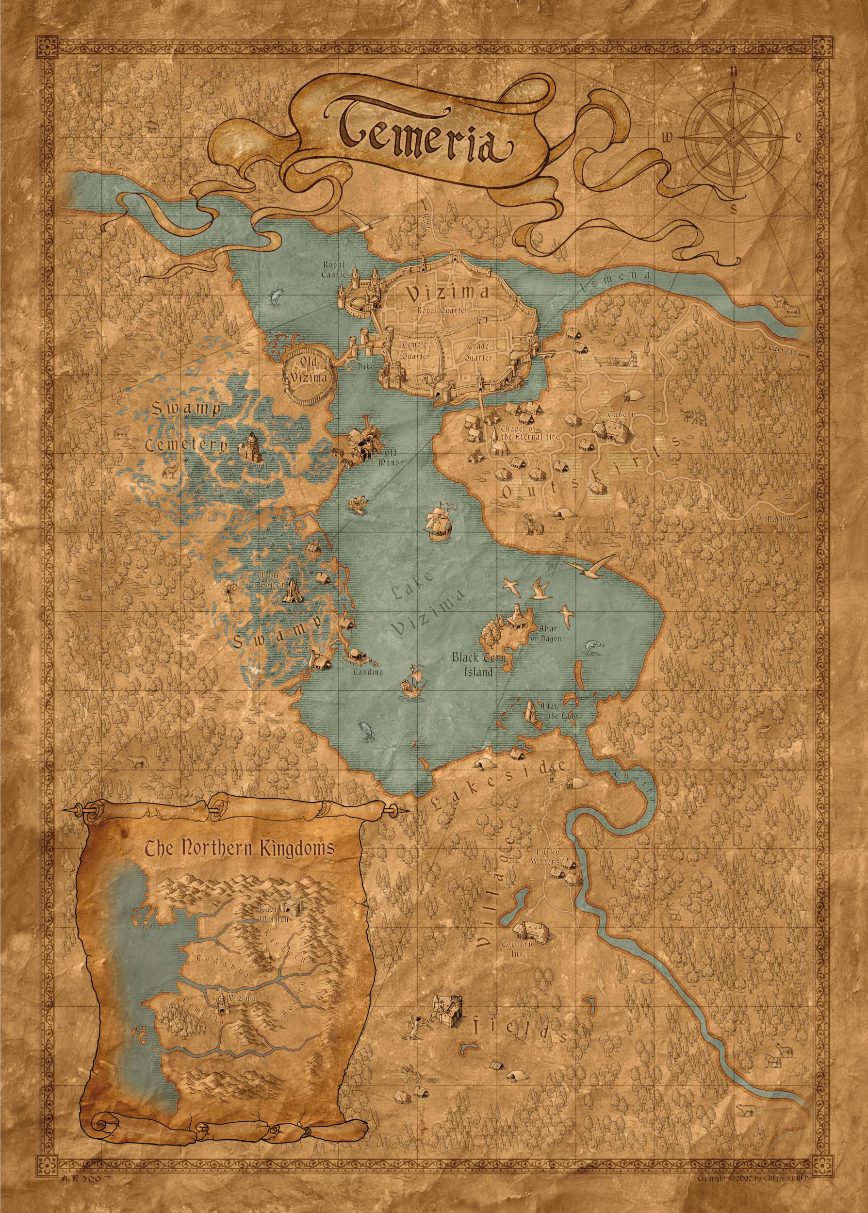 Witcher 3 Toussaint Map : witcher, toussaint, Nearly, Witcher, Still, Incredibly, Charming