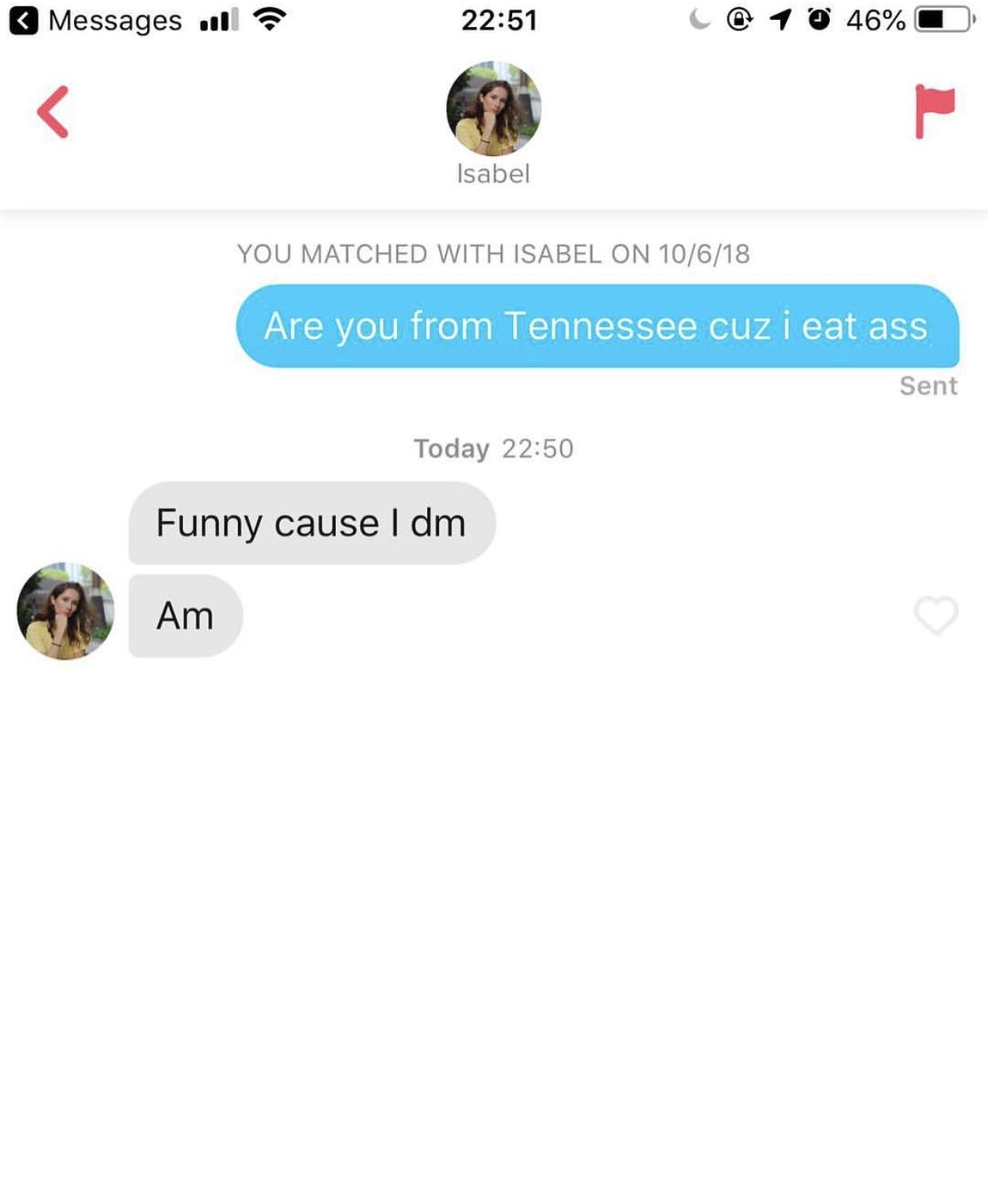 Funny Dm Pick Up Lines : funny, lines, Effective, Tinder, Lines, Solutions