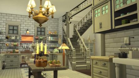 im Practical Magic House WIP : Sims4