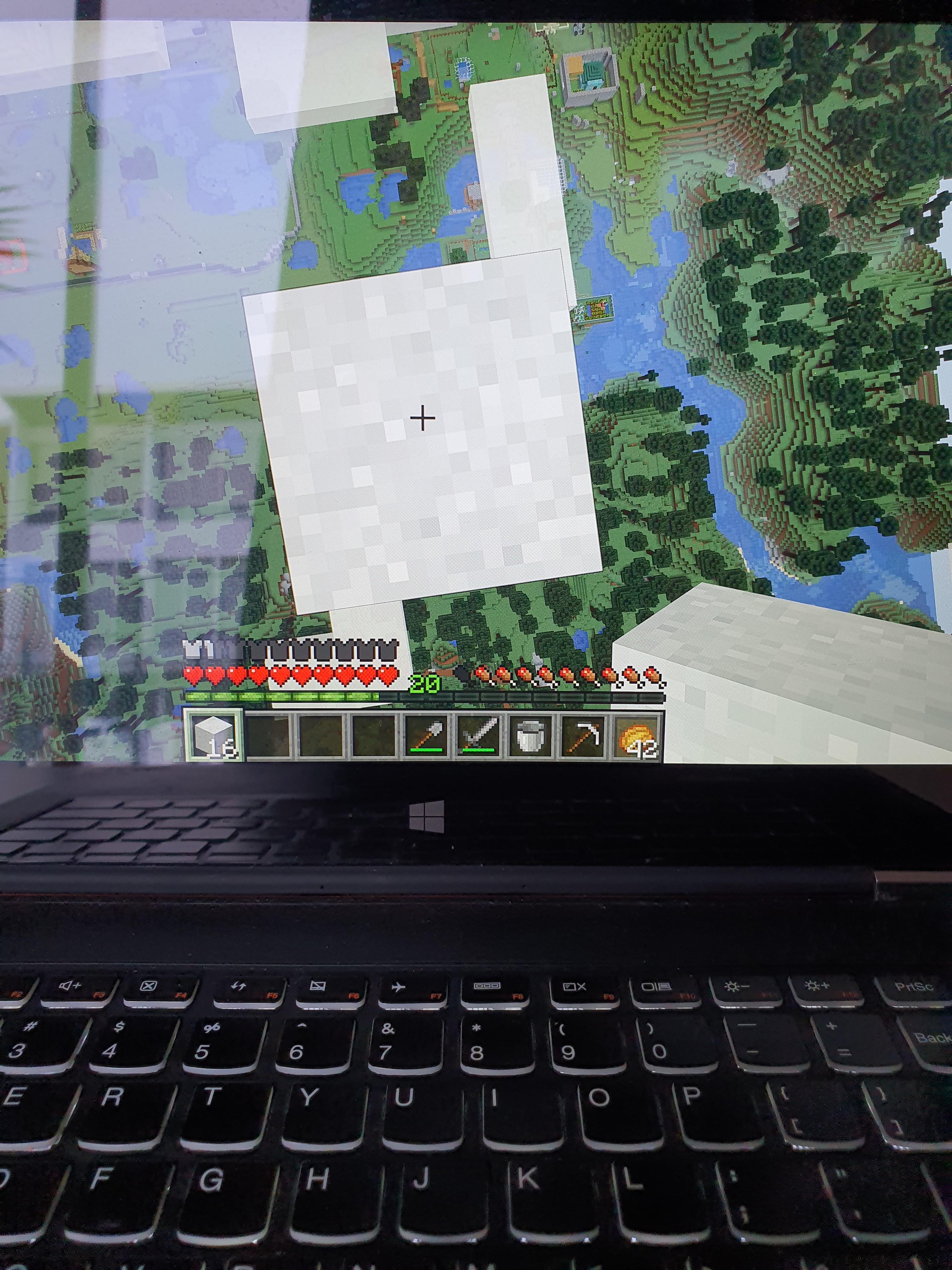 How To Fill A Bucket In Minecraft : bucket, minecraft, Moment, Stacks, Concrete, Powder, Realize, Forgot, Bucket., Minecraft
