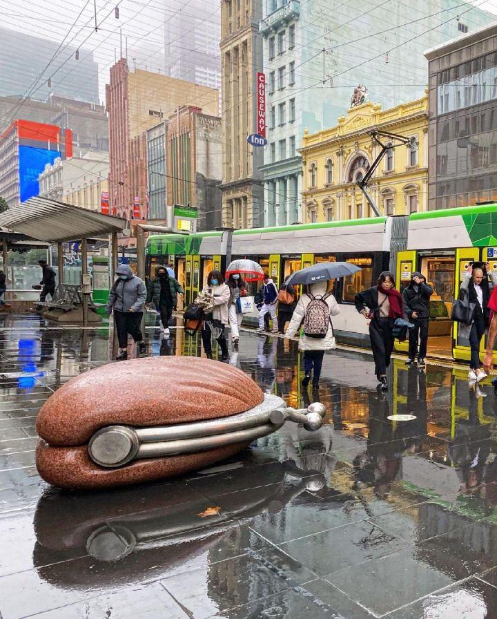 Bourke St Mall, Melbourne (Photo credit to Nanette White)