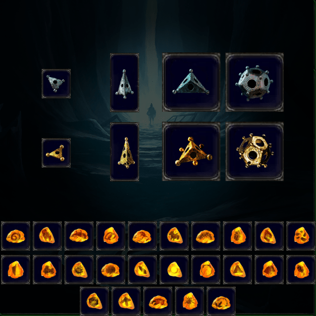 Image result for path of exile delve stash tab