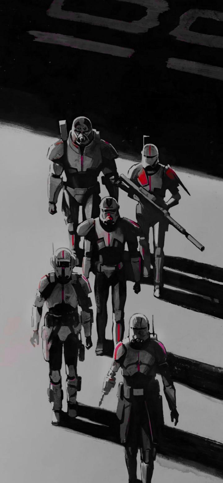 Star Wars, The Bad Batch wallpaper [3173×6866]