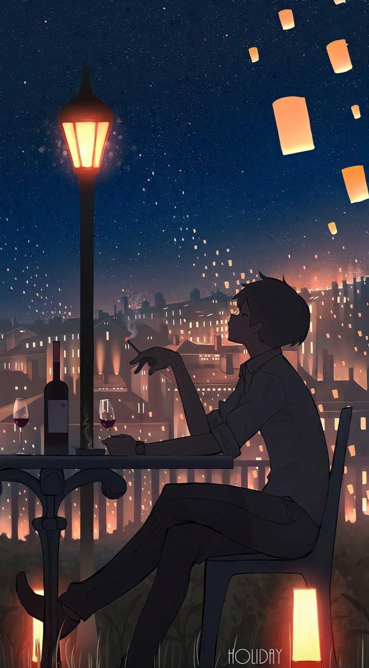 Lantern Anime wallpaper
