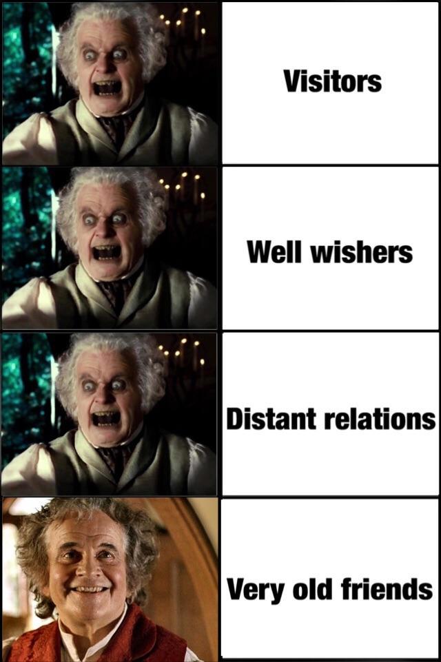 Old Friends Meme : friends, Friends, Lotrmemes