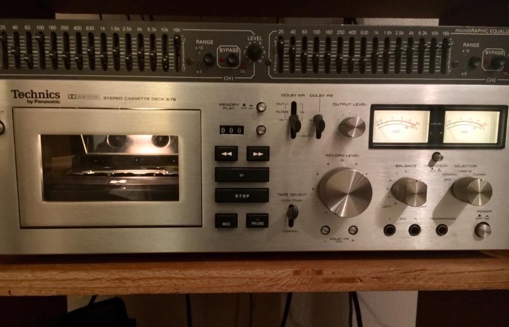 medium resolution of technics rs 676 tape deck s receiver counterpart i d like to obtain the technics receiver that goes with this high quality tape deck