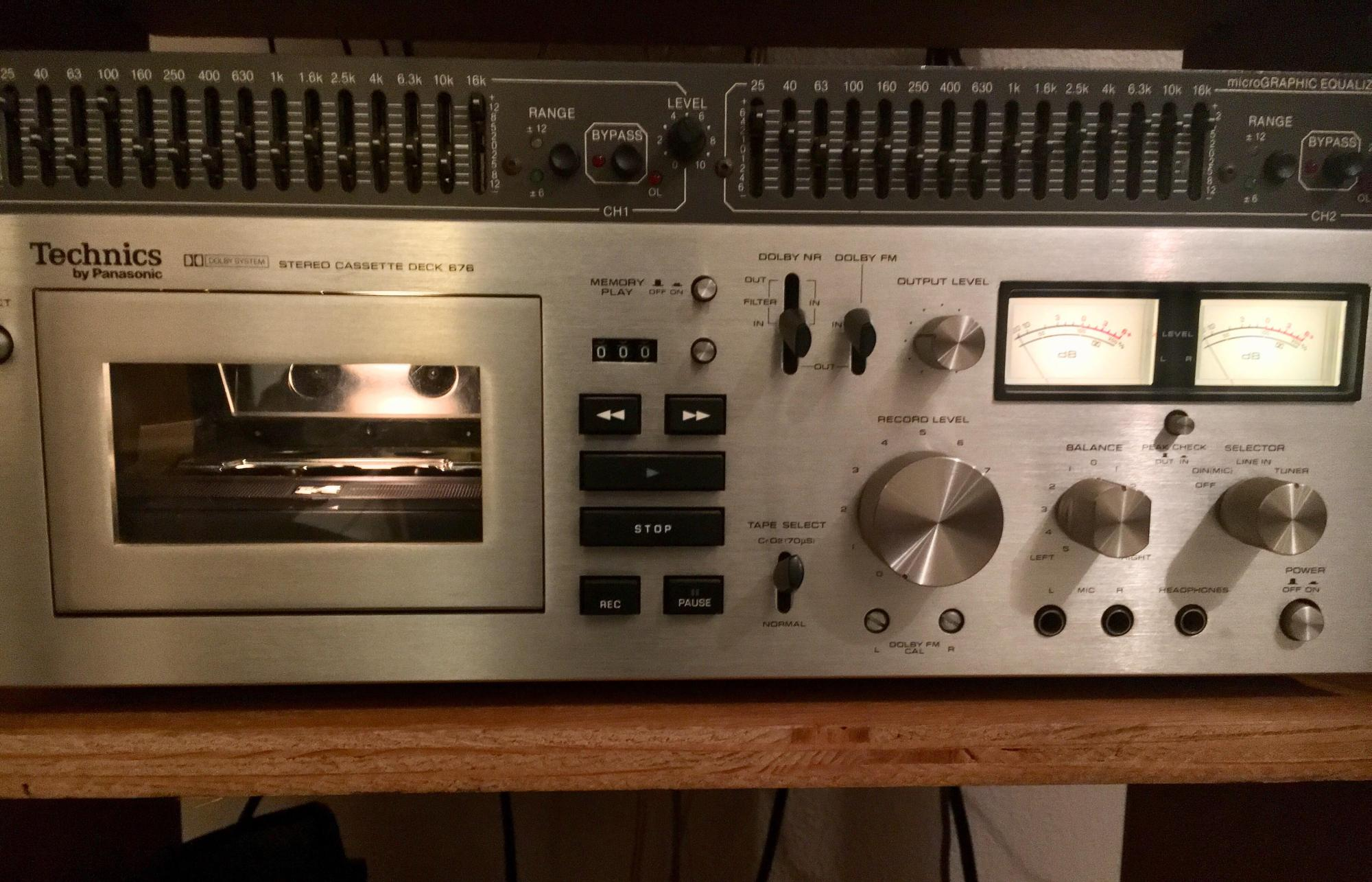hight resolution of technics rs 676 tape deck s receiver counterpart i d like to obtain the technics receiver that goes with this high quality tape deck