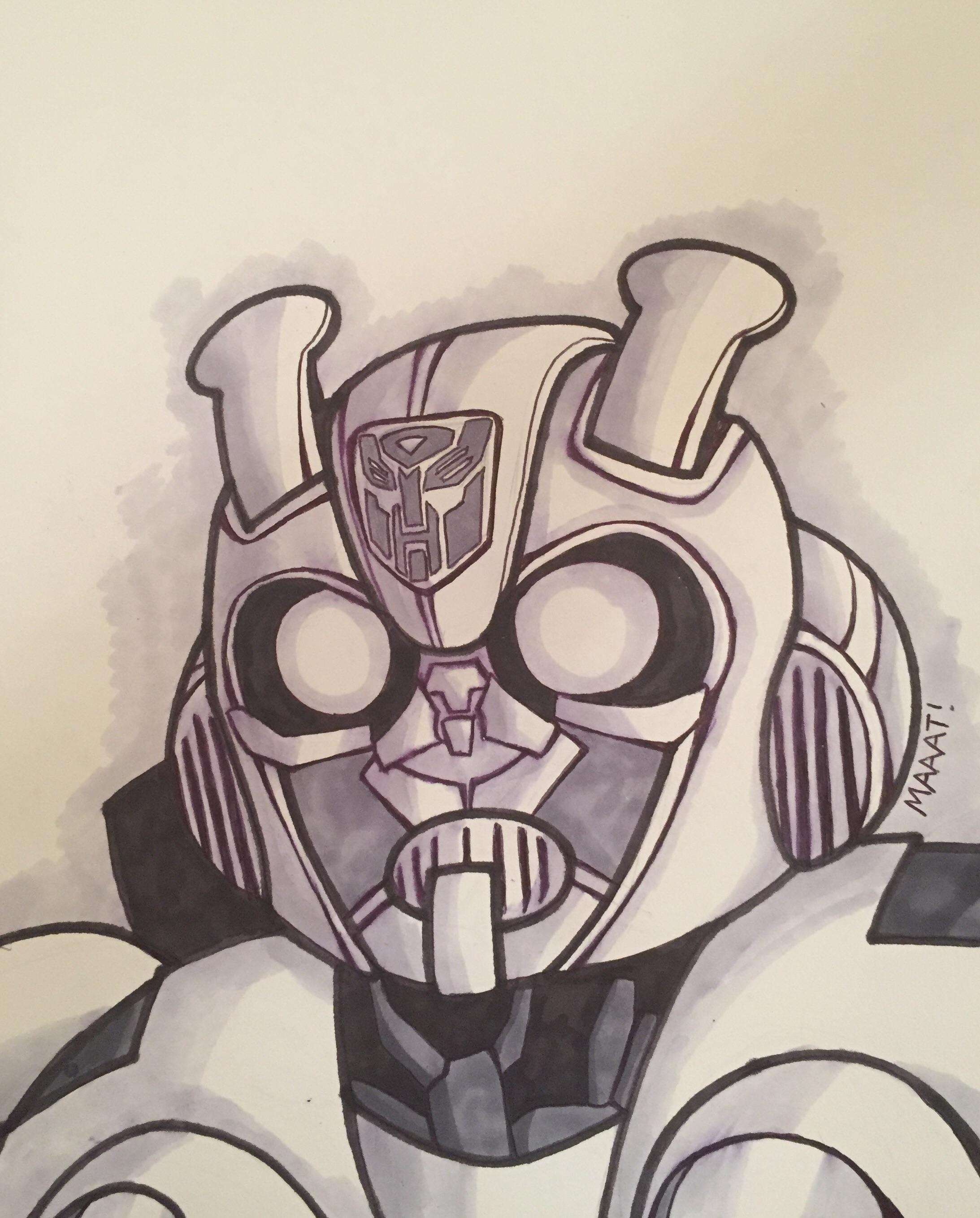 Bumblebee Sketch : bumblebee, sketch, Whipped, Bumblebee, Sketch, Anticipation, Transformers
