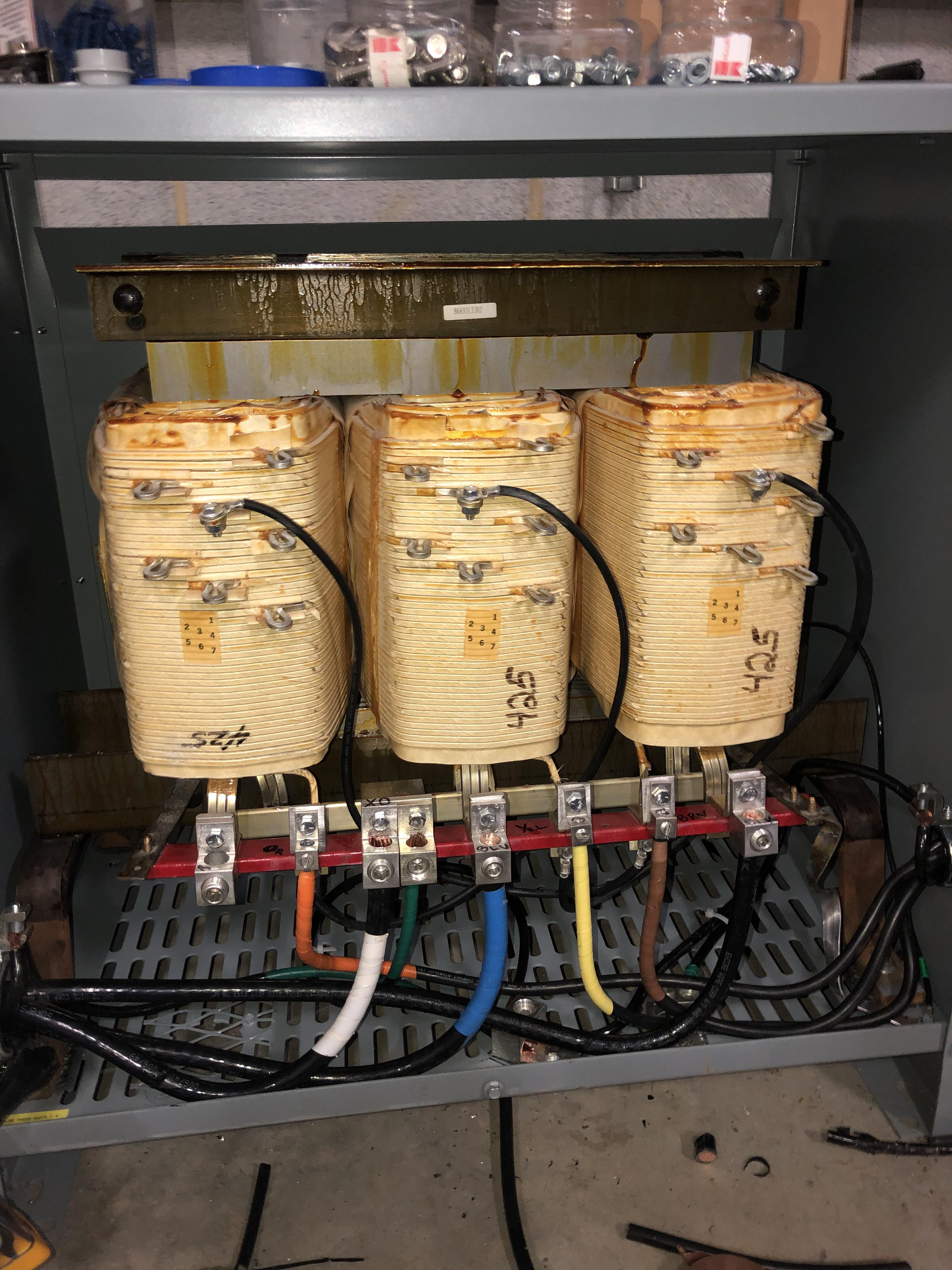 Wiring Up A 3 Phase Transformer X Post From R