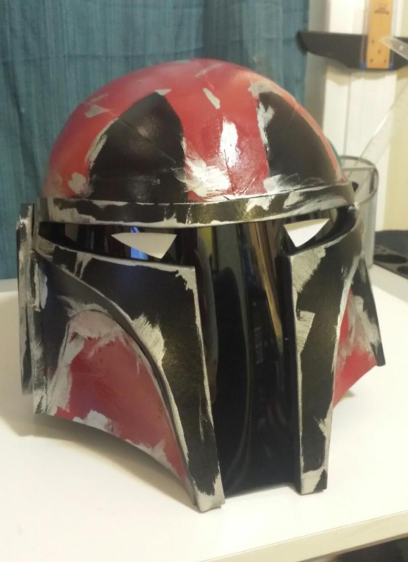 Mandalorian Deadpool Helmet I Made