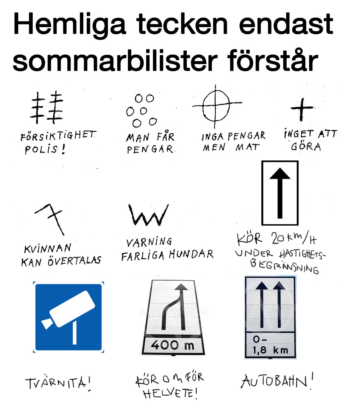 Sweddits guide till sommartrafiken : sweden