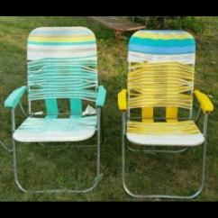 Webbed Folding Lawn Chairs Modern Kitchen I See Your Chair And Raise You A Vinyl Tube Strap