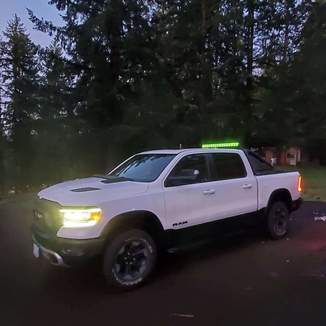 my first new vehicle 2019 ram rebel so