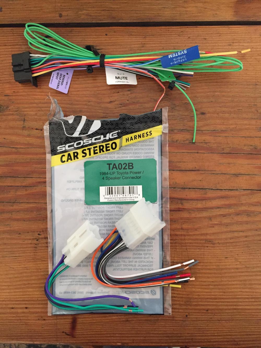 medium resolution of head unit wiring help