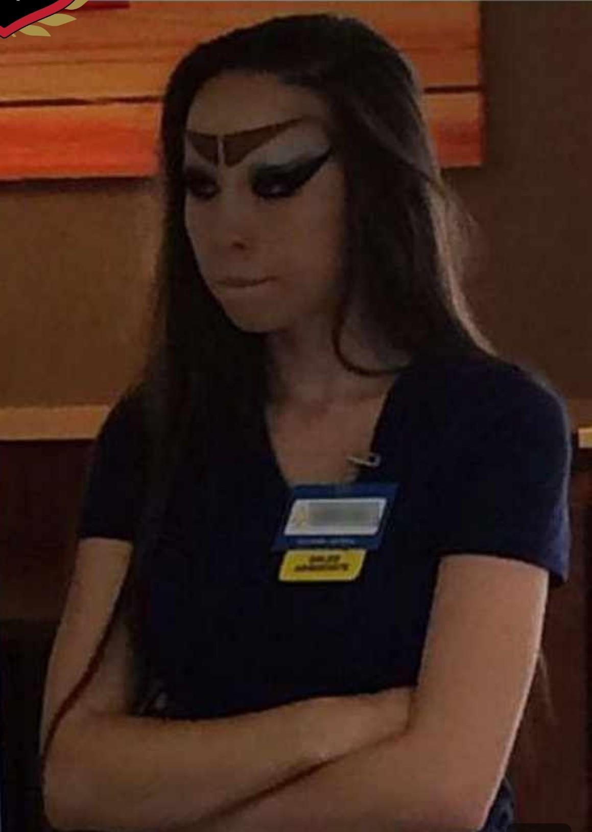 Walmart Eyebrows : walmart, eyebrows, Awful, Eyebrows, Wal-Mart, Awfuleyebrows