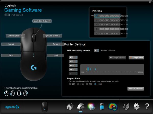 G Pro Wireless profiles broke after uninstalling G Hub ...