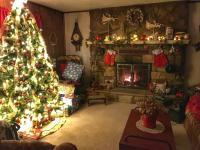 My Parents' Christmas Living Room : CozyPlaces