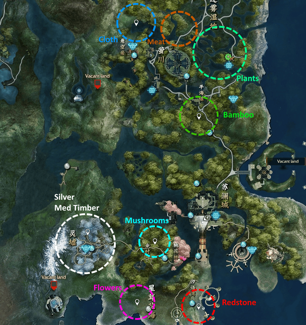 made a map for
