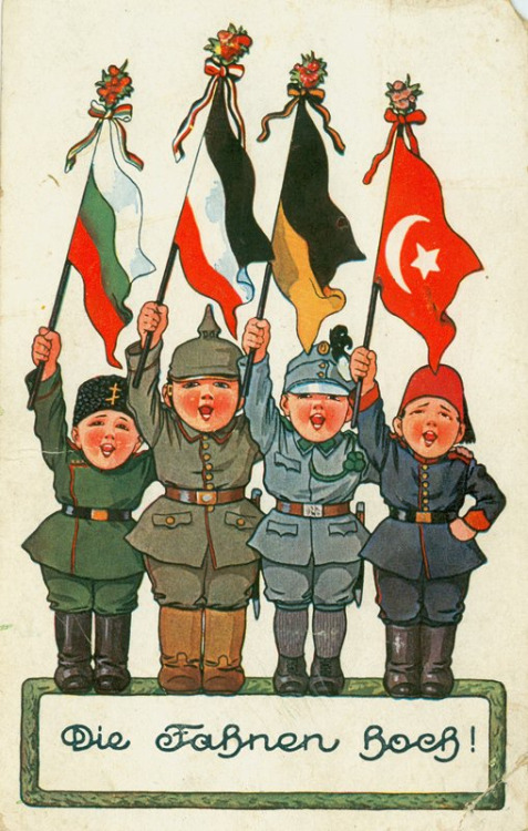 Raise The Flag German Central Powers Poster 1914