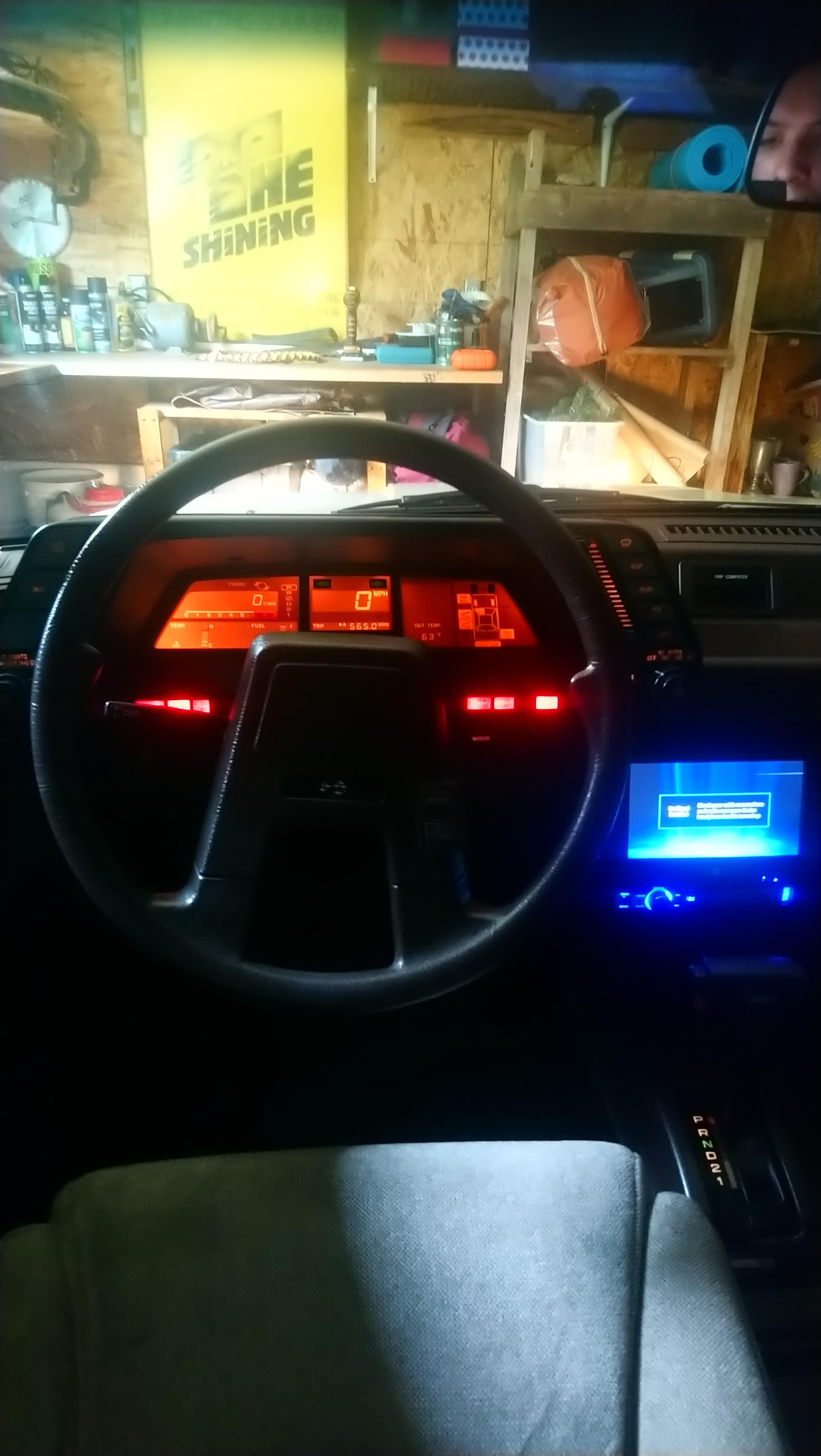 Subaru Dashboard : subaru, dashboard, Subaru, GL-10, Wagon, Outrun