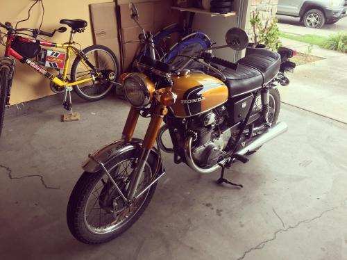 small resolution of my first bike 71 honda cb350