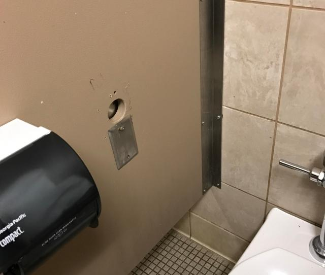 There Is A Glory Hole In The Humanities Building