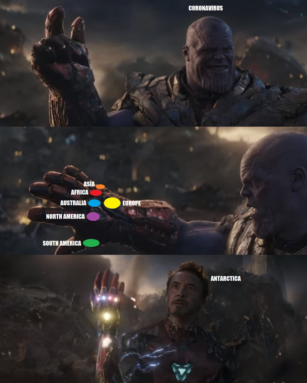 Thanos I Am Inevitable Meme : thanos, inevitable, Coronavirus:, Inevitable, Thanosdidnothingwrong