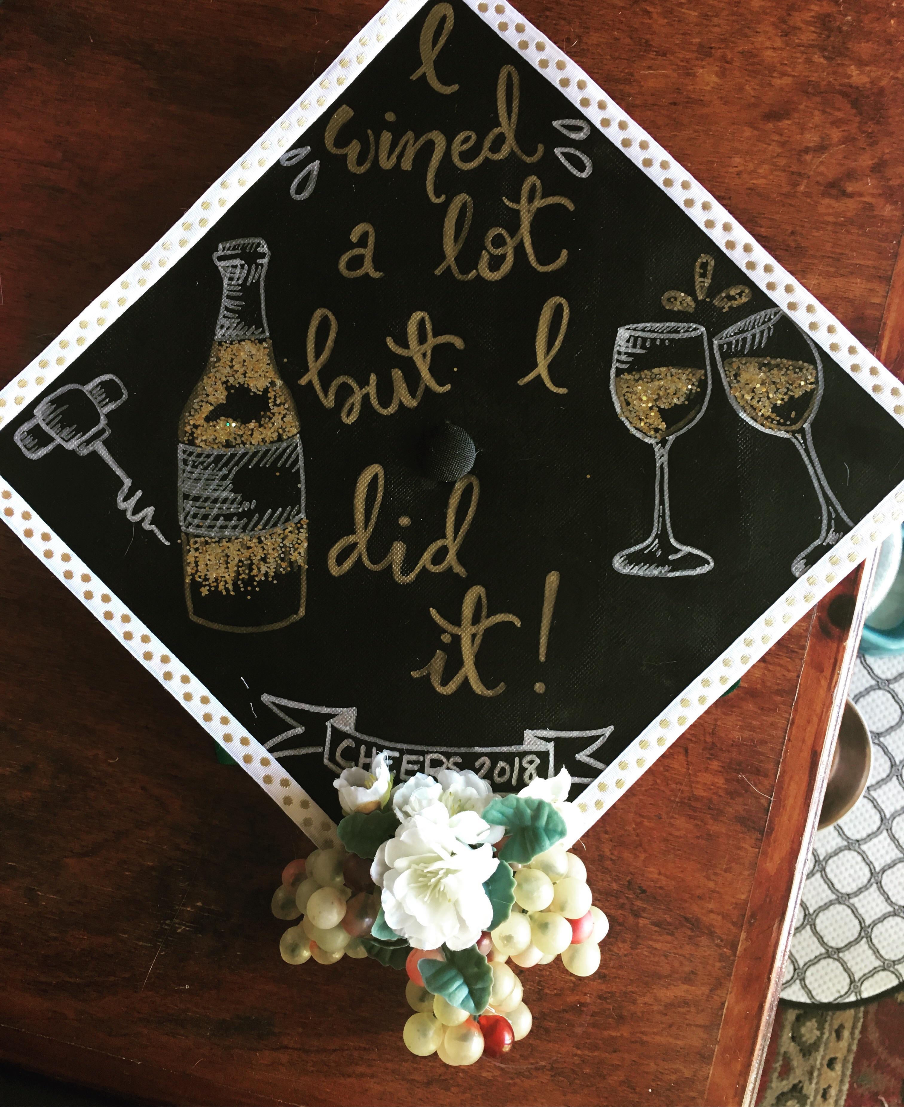 my cap for graduation