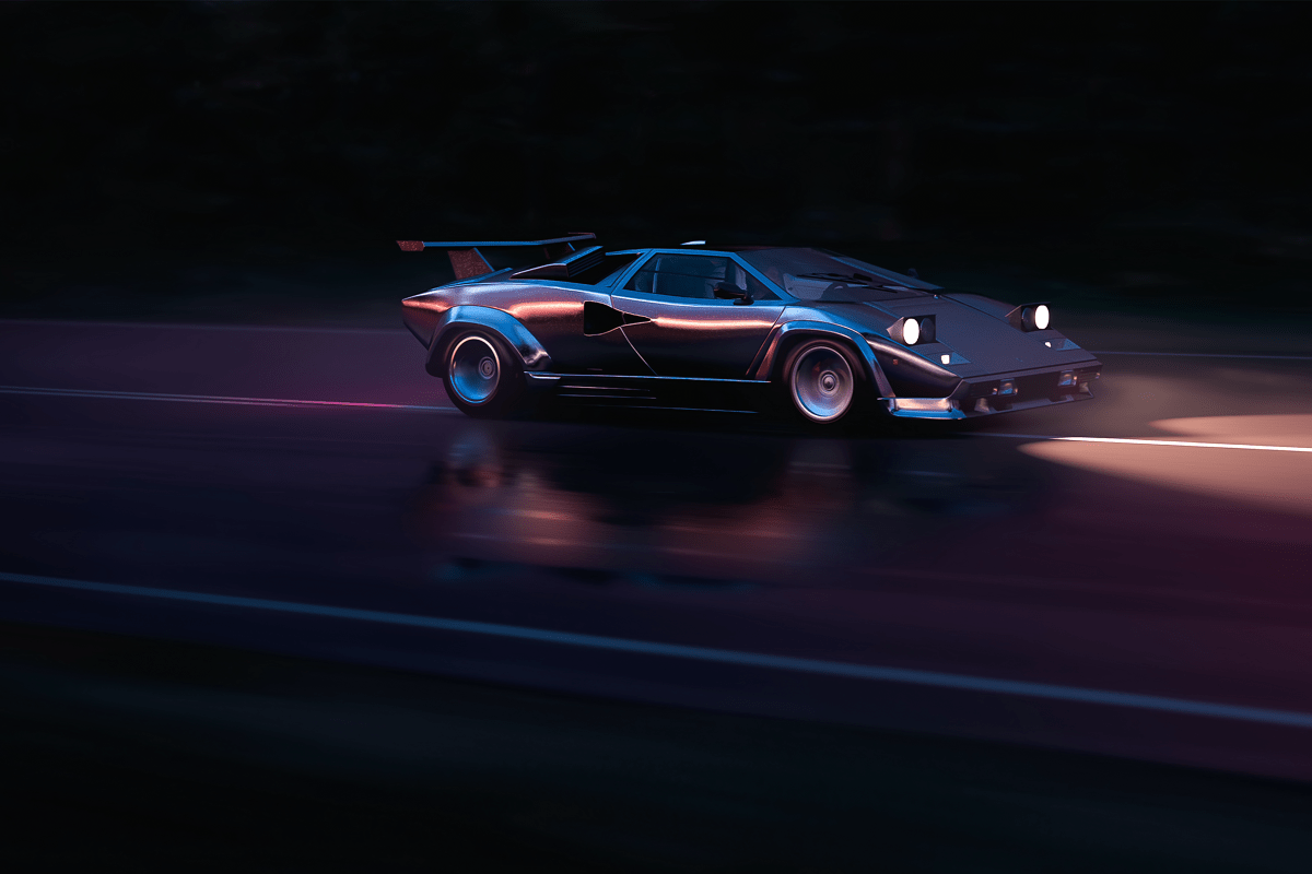 Running In The Countach Mikhail Sharov 3840 2160 My Curated Reddit