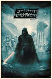 Star Wars: The Empire Strikes Back poster by Karl ...
