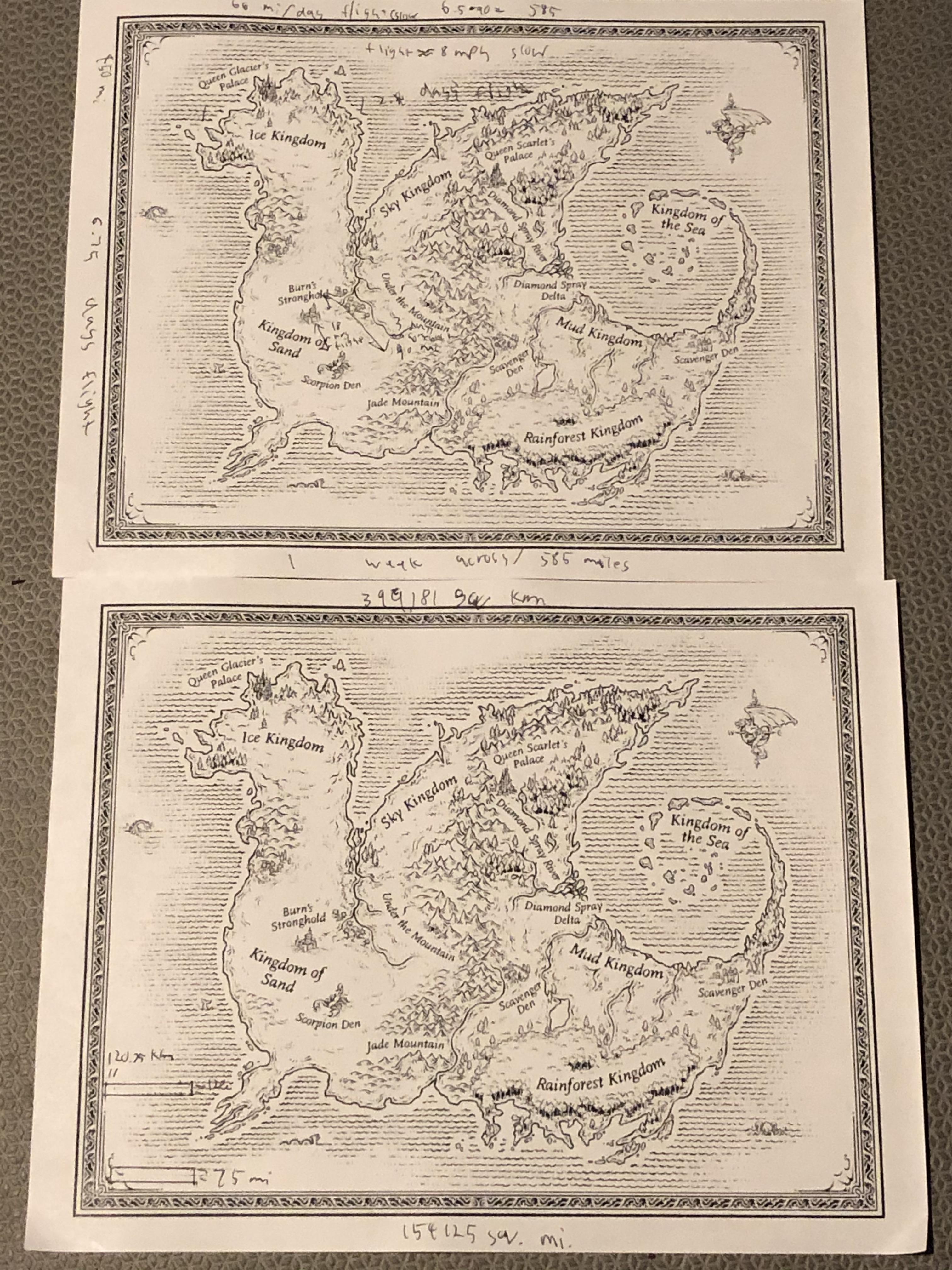 Wings Of Fire Map Of Pyrrhia : wings, pyrrhia, Pyrrhia:, Measured, Miles, Using, Books, Canon, Measurements., WingsOfFire