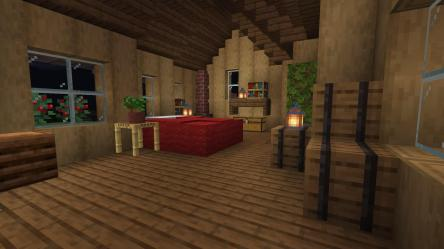 Any tips on my medieval house bedroom : Minecraft