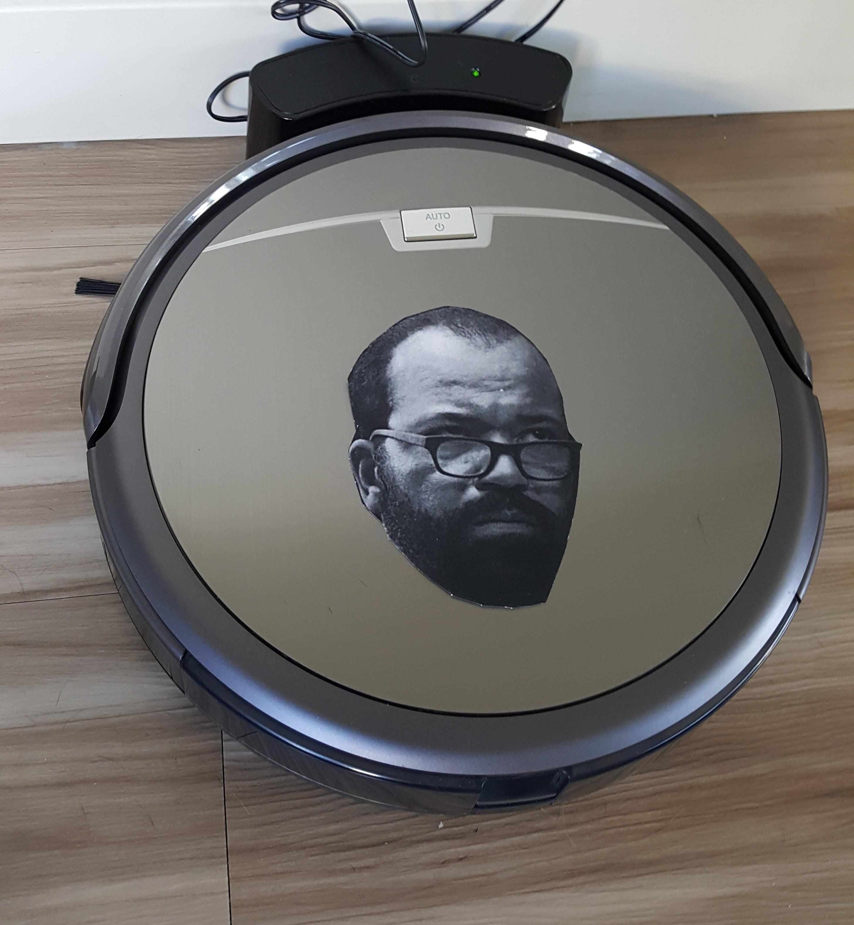 our new roomba knockoff