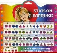 Stick-on Earrings : nostalgia
