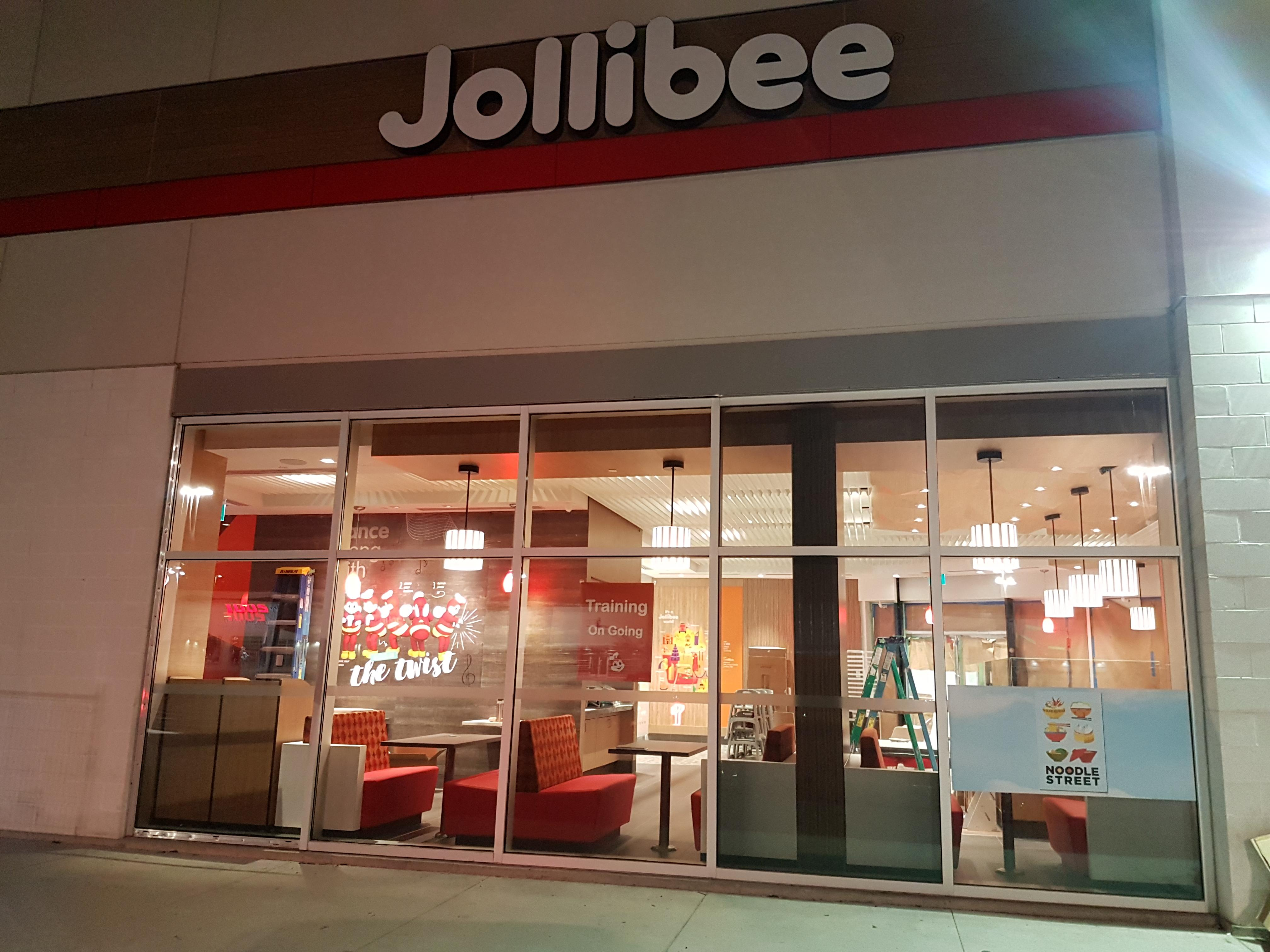 Jollibee must be opening imminently! : mississauga