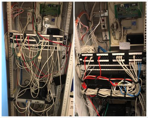 small resolution of wiring closet before wiring diagram for you wiring closet diagram factory network closet before and after