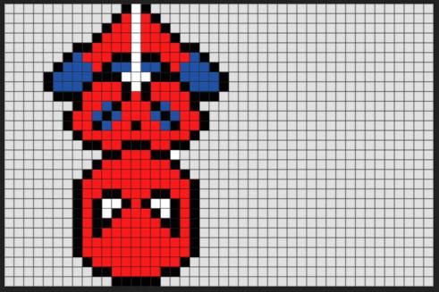 spidy pixel art ideas