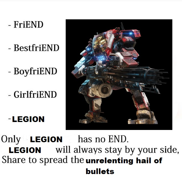 How I Feel About Legion Titanfall