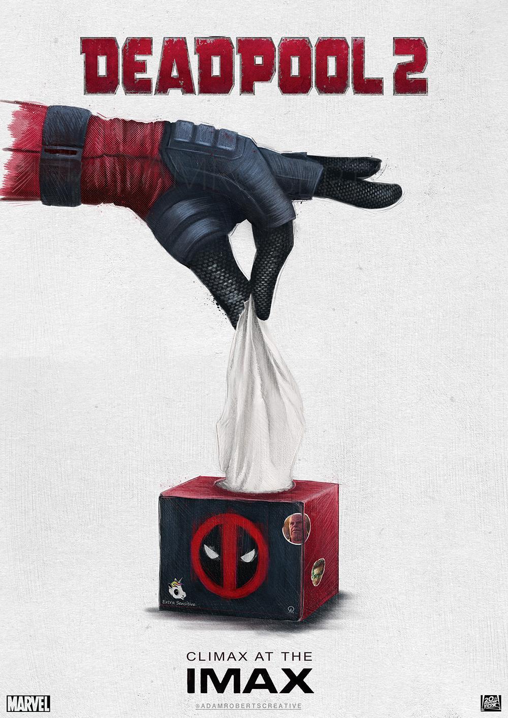 new illustrative deadpool 2 movie