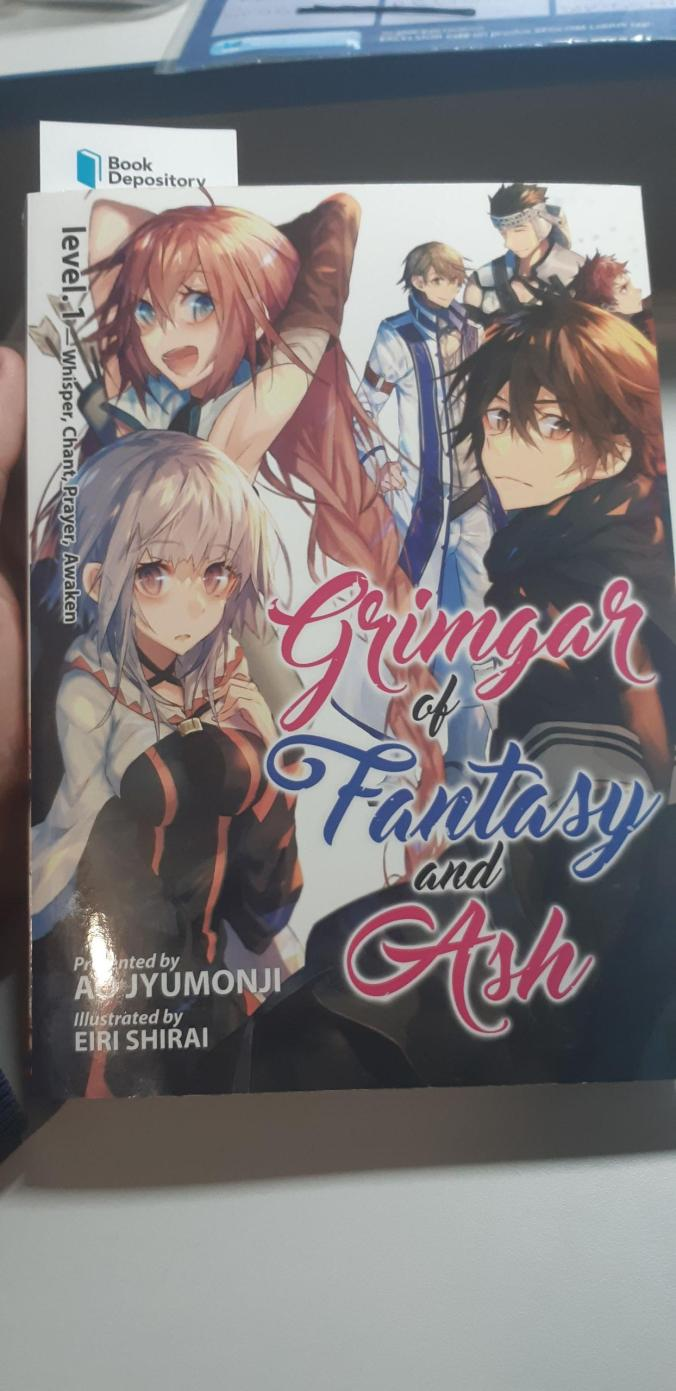 My first light novel, Grimgar of Fantasy and Ash, just arrived from bookdepository.com to Romania in 16 days (12 business days)! Read the first 2 chapters and I love it already!