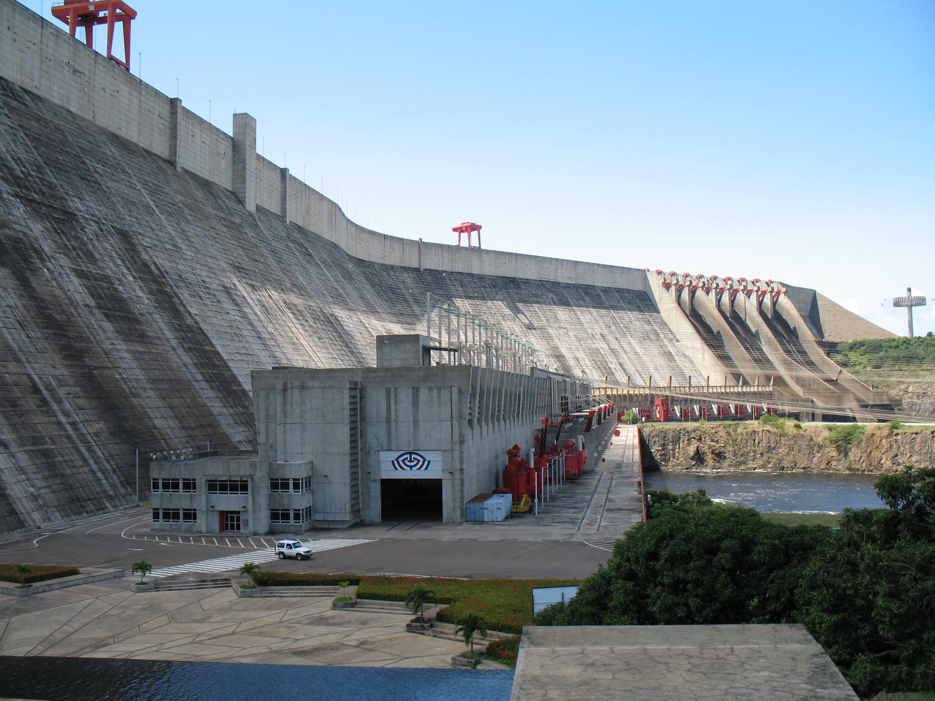 Guri Dam Venezuela Oc X Infrastructure