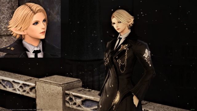 4.3 pvp hairstyle on an elezen (looks good imo) : ffxiv