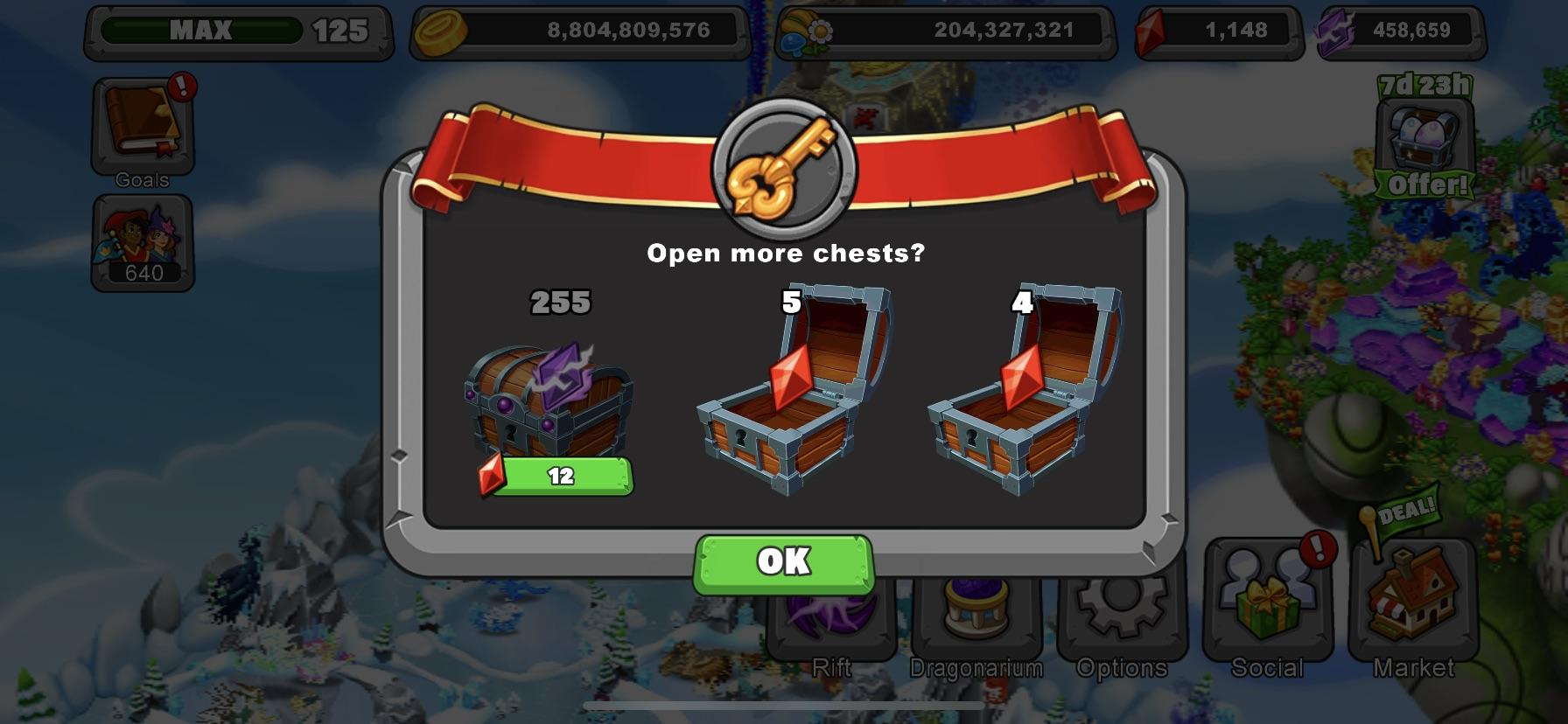 Wish I Had This Much Luck While Breeding In The Last Event Dragonvale