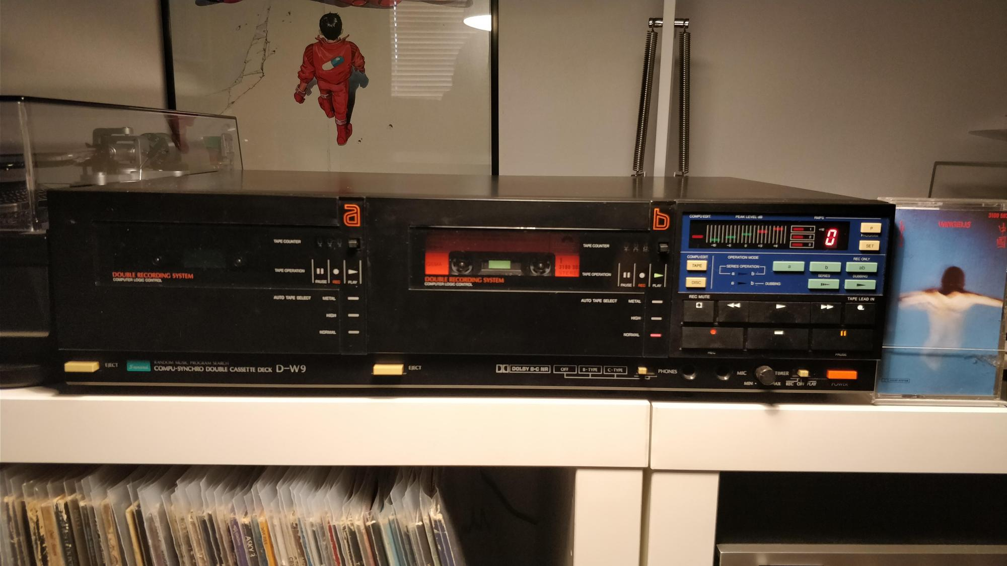 hight resolution of new tape deck sansui d w9